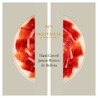 Waitrose 1 hand carved jamon iberico de bellota