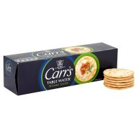 Carr's Table Water Biscuits with sesame