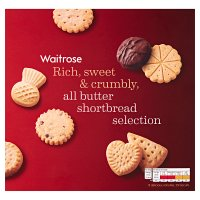 Waitrose all butter shortbread selection