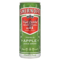 Smirnoff Vodka & Apple Juice Drink