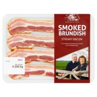 Lane Farm Brundish streaky bacon smoked