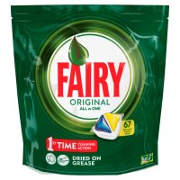 Fairy All In One Lemon Dishwasher Tablets 67 pack