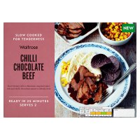 Waitrose Slow Cooked Chilli Chocolate Beef