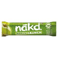 Nakd apple crunch bar
