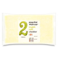 essential Waitrose English mild Cheddar cheese, strength 2