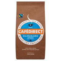 Café Direct Fair Trade Kilimanjaro coffee beans