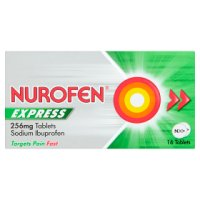 Nurofen ibruprofen tablets express (pack of 16)