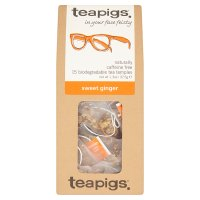 Teapigs sweet ginger 15 tea temples