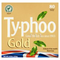 Typhoo Gold 80 Teabags