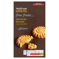 Waitrose LOVE life gluten free shortcake biscuits