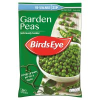 Birds Eye field fresh garden peas re-sealable frozen