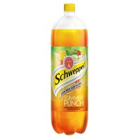 Schweppes limited edition summer punch plastic bottle