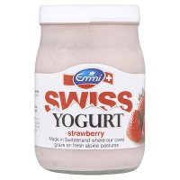 Emmi Swiss strawberry yogurt