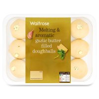 Waitrose garlic butter filled doughballs