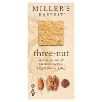 Miller's Harvest three-nut crackers