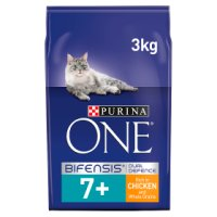 Purina one senior 7+ chicken whole grains