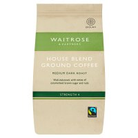Waitrose Fairtrade café blend ground coffee
