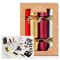 Waitrose Christmas Foil Crackers