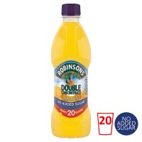 Robinsons Double Concentrate Orange no added sugar