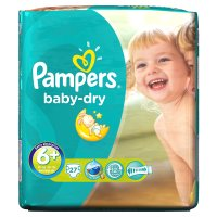 Pampers Baby Dry 6+ Essential 27 Nappies