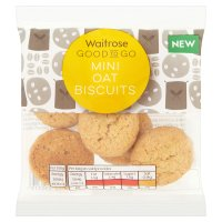 GOOD TO GO mini oat biscuits