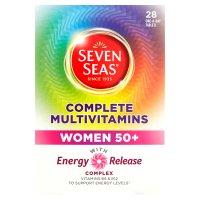 Seven Seas complete multivitamins women 50+ x 30