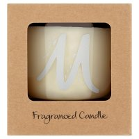 Waitrose Alphabet M Coconut & Sandalwood Candle
