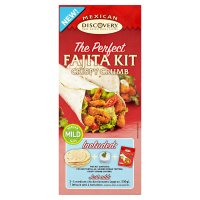 Discovery perfect fajita kit crispy