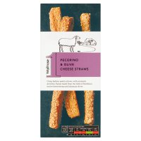 Waitrose 1 Pecorino & Olive Cheese Straws
