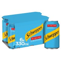 Schweppes diet lemonade multipack cans