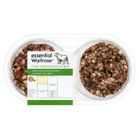 essential Waitrose 2 New Zealand lamb burgers