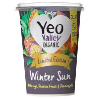 Yeo Valley organic  limited edition yogurt