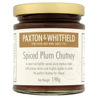 Paxton & Whitfield spiced plum chutney