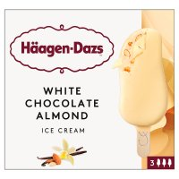 Häagen-Dazs 3 White Chocolate & Almond Bars