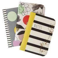 Caroline Gardner 3 Pocket Notebooks