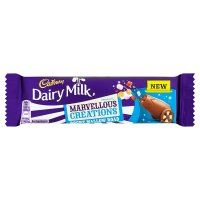 Cadbury Dairy Milk Marvellous Smashables rocky mallow road chocolate bar
