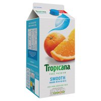 Tropicana orange juice smooth with no bits
