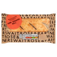 Waitrose Good To Go pork sausage roll