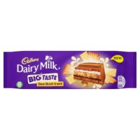 Cadbury Dairy Milk big taste toffee whole nut chocolate bar