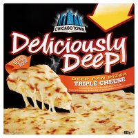 Chicago Town deliciously deep triple cheese