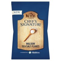 Kettle Chips Chef's Signature Maldon Sea Salt