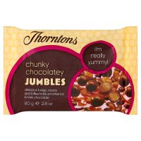 Thorntons chunky chocolatey jumbles