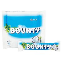 Bounty milk chocolate, 4 pack