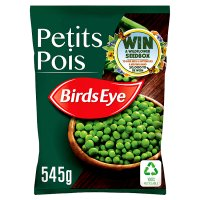 Birds Eye field fresh petits pois frozen