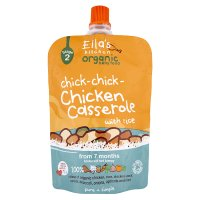 Ella's kitchen organic chicken casserole