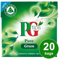 PG Tips pure green tea 20 bags