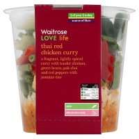 Waitrose Love life thai red chicken curry