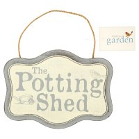 Waitrose Garden Potting Shed Sign