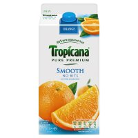 Tropicana smooth orange juice, no bits