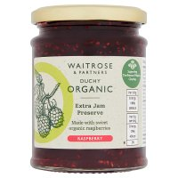 Duchy Originals from Waitrose organic raspberry preserve